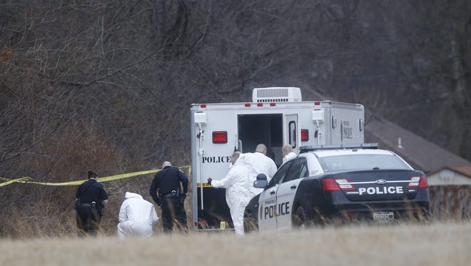 Police say human remains were found Monday afternoon in the 2800 block of South Fort Avenue.