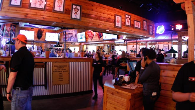 Texas Roadhouse recently opened on Grand Avenue in Surprise.