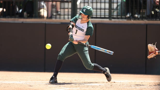 Lea Foerster and the Michigan State softball team saw its season come to an end in the regional championship of the NISC.
