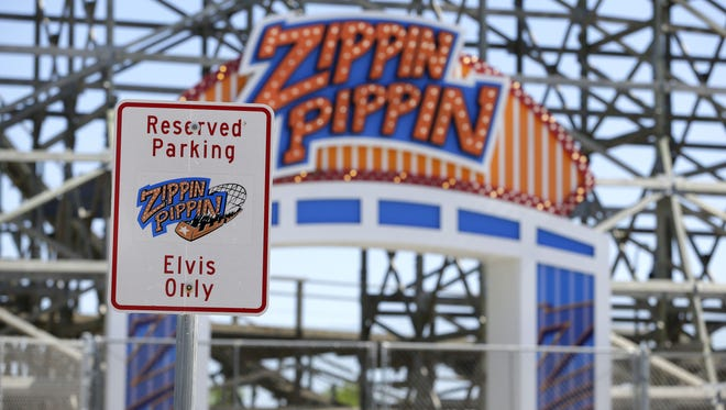 Bay Beach Amusement Park will celebrate the 40th anniversary of Elvis Presley's last ride on the Zippin Pippin roller coaster with special events on Aug. 8.