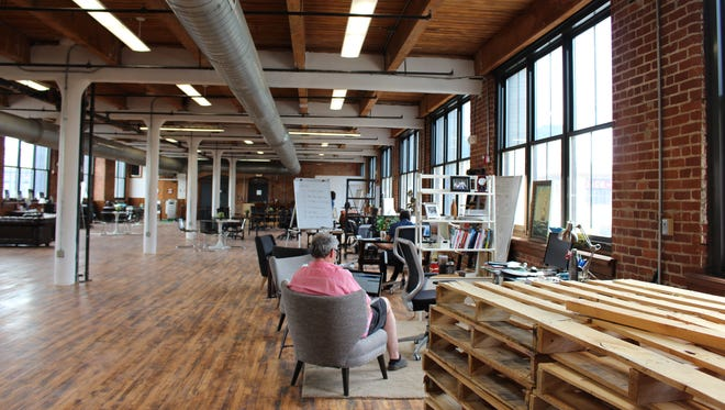 Ocean Accelerator and Unpolished recently moved into a new 7,000-square-foot office in Downtown Cincinnati on Sycamore Street.