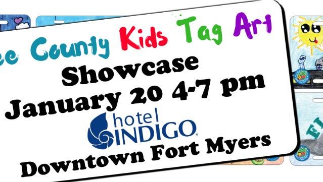 Kids Tag Art event Friday at Hotel Indigo.