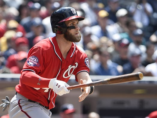 Altuve passes Infante; four Royals are AL starters Bryce Harper Outfield