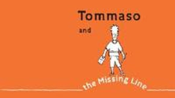 """""""Tommaso and the Missing Line"""" by Matteo Pericoli, Alfred A. Knopf, 2008."""