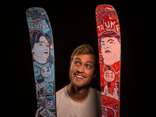 Cyrus Schenck of Renoun ski in Burlington has introduced