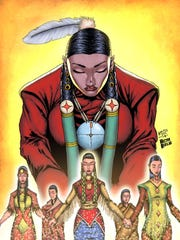"Keith Jim's ""Missing and Murdered of Indigenous Women."""