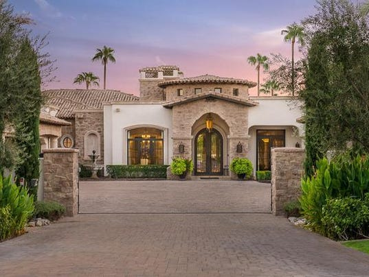 Luxury homes 3 8m paradise valley mansion features two for Luxury home features