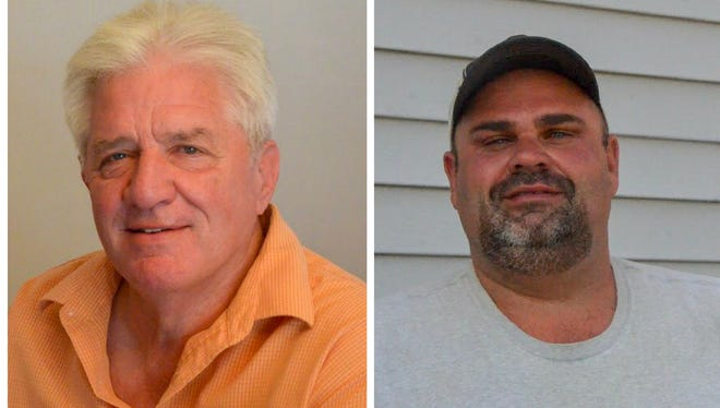 Incumbent Vic Potter (left) and newcomer Tommy Miller are both running as Republicans in the upcoming Calhoun County District 6 commission seat primary race.