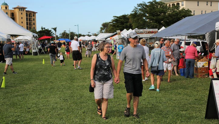 The Marco Island Farmers Market opened for season Wednesday,
