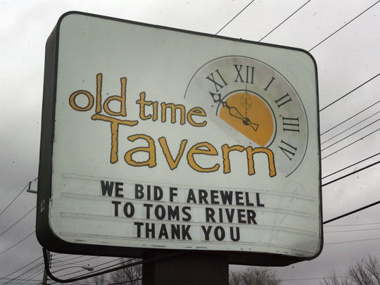 The Old Time Tavern on Rt 166 is closed after 80 years.