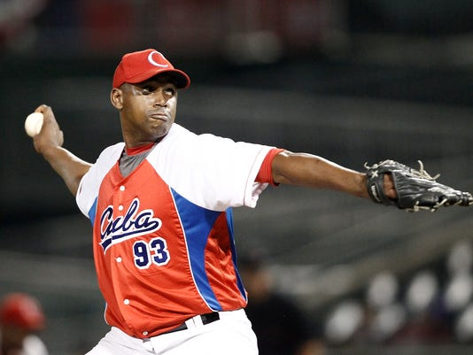 Baseball: Rockland Boulders v Cuban National