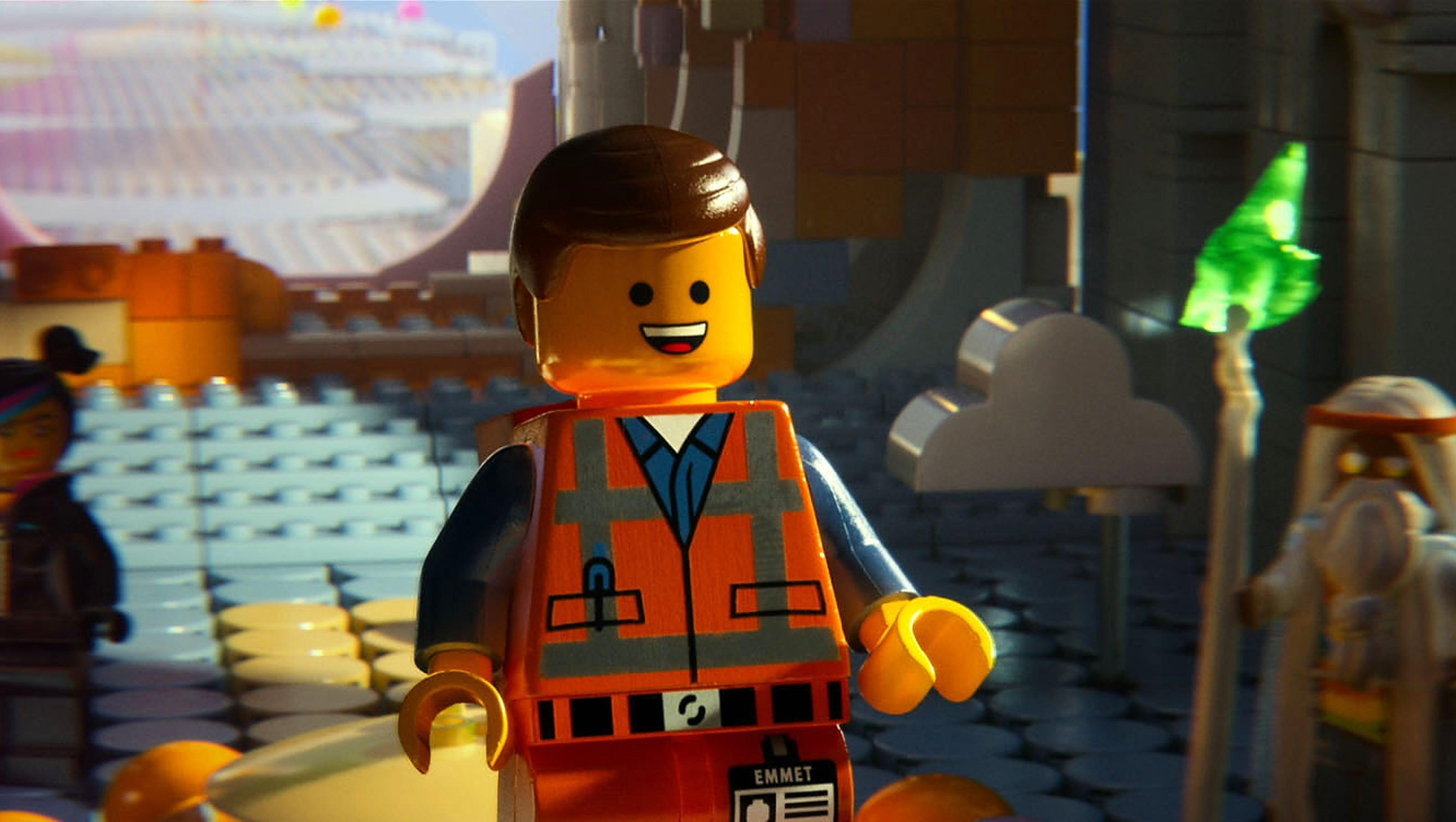 Lego Movie Emmet Went Through 150 Hairstyles