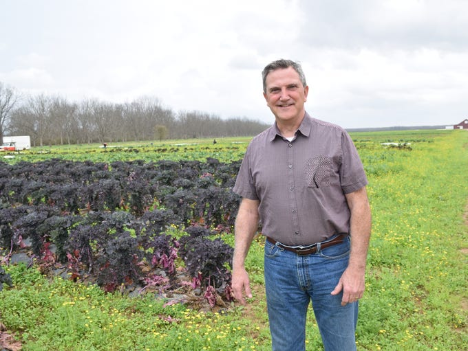 Lee Weeks, operations manager of the 3,500-acre, certified-organic