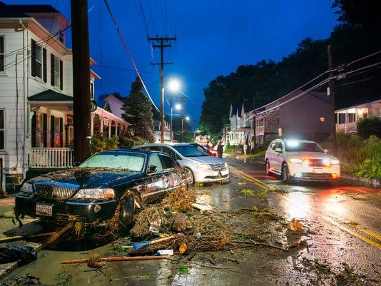 EPA USA FLOOD ELLICOTT CITY WEA WEATHER USA MD