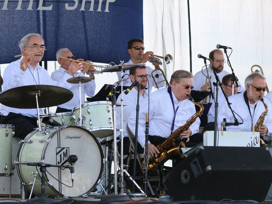Swingmania, of Toledo, opened the 2018 Put-in-Bay Music
