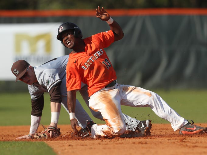 FAMU'sJordan Curtis slides safely into second base