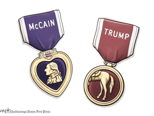 McCain vs. Trump