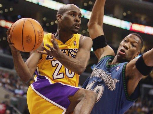 Gary Payton (Los Angeles Lakers) - Payton played one