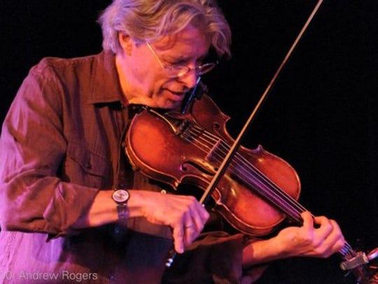 International award-winning fiddler Darol Anger will
