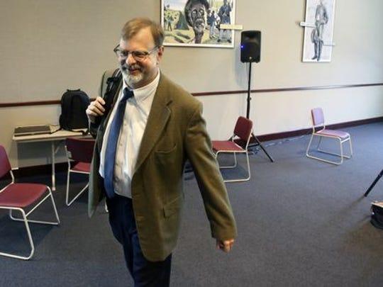 Courier-Journal politics reporter Joe Gerth.