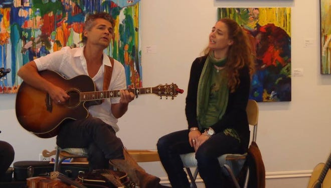 Bobby Sweet and Lara Tupper perform Saturday at 6 On The Square in Oxford.