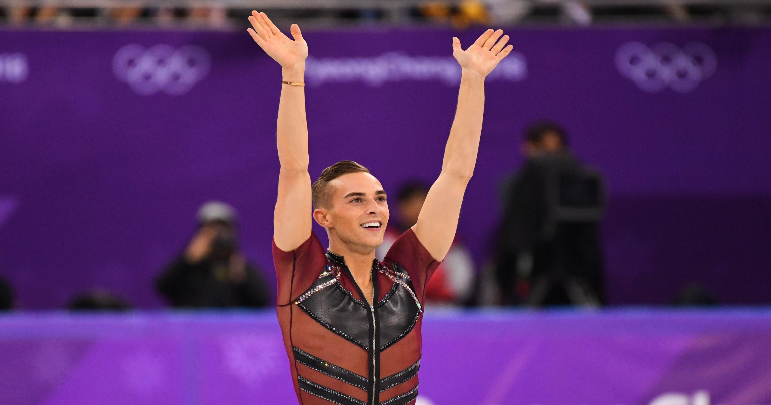 Adam Rippon spills on Sean Spicer, Mike Pence and 'The Masked Singer' ahead of memoir
