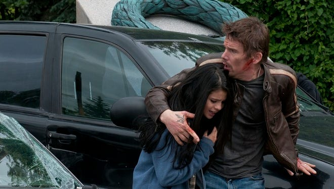 'Getaway,' with Selena Gomez and Ethan Hawke, wastes a decent cast.