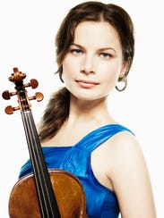 Violinist Bella Hristova will be among the musicians