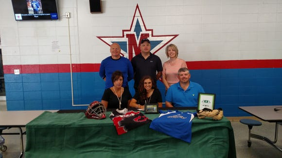 McDowell senior Maddison Waycaster has signed to play softball for Richard Bland College of William & Mary (Va.).