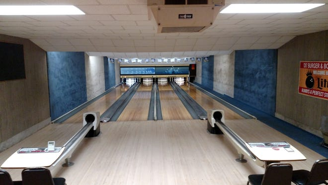 Every five years, the lanes are sanded down and professionally resurfaced at D's Burger and Bowl in Prentice.
