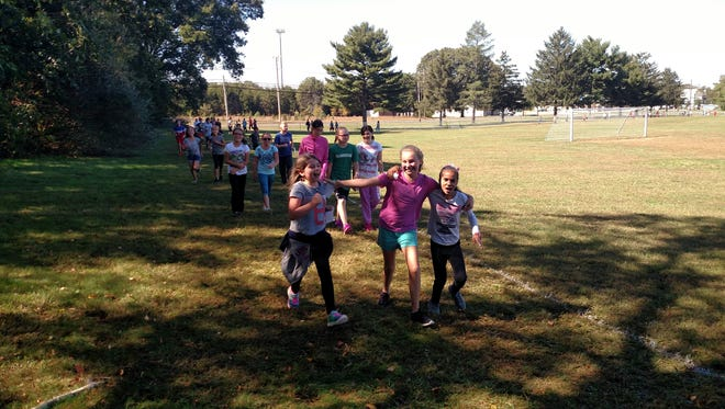 This fall the Caroline L. Reutter student body participated in the PTO's Race for Education fundraising event.