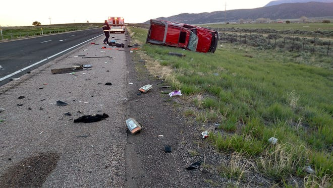 Cedar City resident Daniel Jones, 29, died following a single-car crash on the I-15 Saturday, April 22. Jones was not wearing his seat belt at the time of the crash and was ejected from the vehicle.