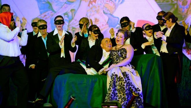 "FILE - Opera Naples performs ""La Traviata"" in March 2016. Photo by Ivan Seligman"