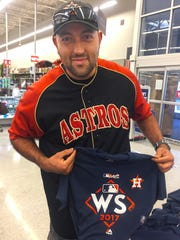 Raul Gomez watched his first Astros game in the Houston