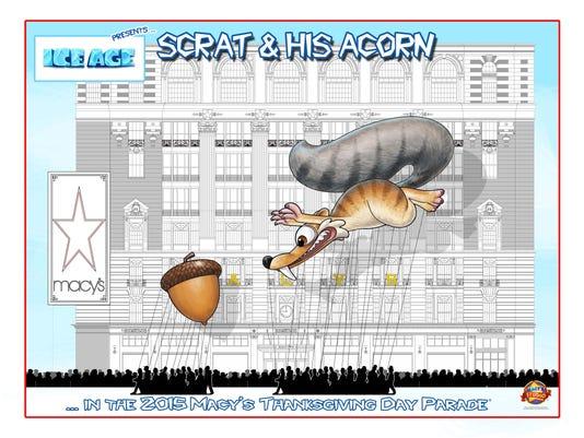 Scrat balloon