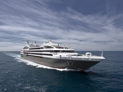 France-based Compagnie du Ponant's 264-passenger Le Boreal was christened in April 2011 but has been sailing since 2010. It is designed to offer a high-end, yacht-like experience in regions as far flung as the Baltic Sea and Antarctica.