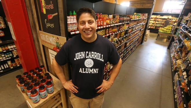 Paul Guglielmo remembers when his pasta sauce was available in 7 locations.  You can now find Guglielmo Sauce in 200 stores and several restaurants like here at Hart's Local Grocers.