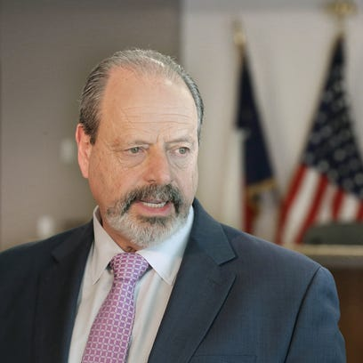 Mayor Oscar Leeser announces after almost six hours