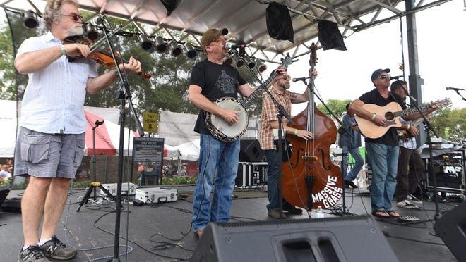 Massive Grass plays CFCC's Wilson Center Drive-In Concerts series on June 28.