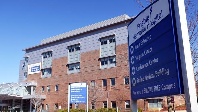 Frisbie Memorial Hospital in Rochester.