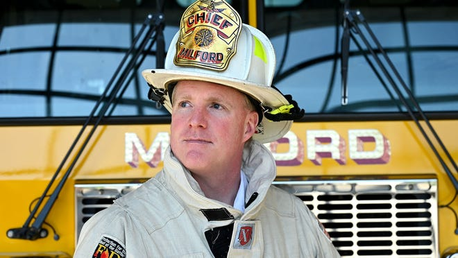 Milford Fire Chief Mark Nelson said he didn't think either fire on Tuesday was intentionally set.
