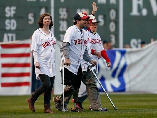 Orioles Red Sox Baseball Boston Marathon