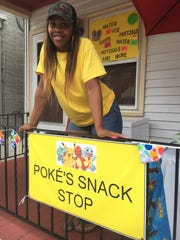 "Atiya Turner, of New Castle, started a business after seeing an increasing number of ""Pokémon Go"" hunters playing in the city. Numerous players flock to the city to play the game, raising the concern of some residents."