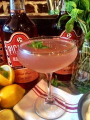 The Nashville '75 is a mainstay on the cocktail menu at The Farm House.