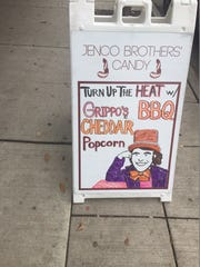 A sign outside Jenco Brothers' Clifton Heights store