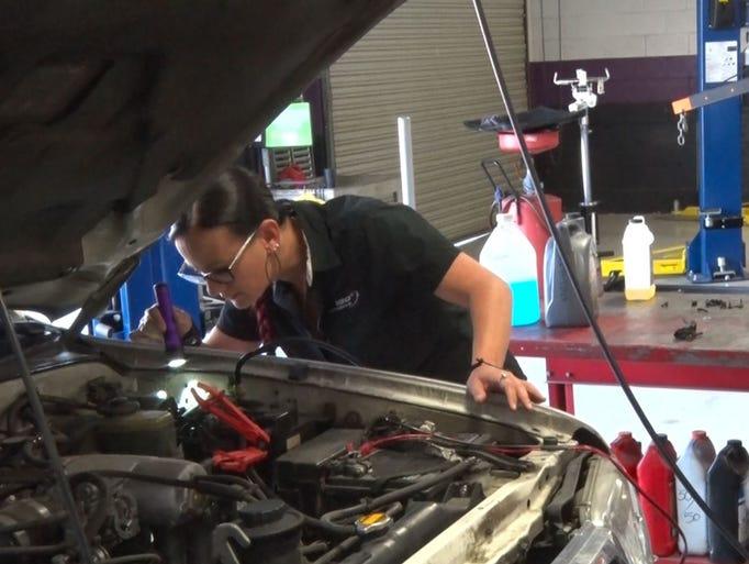 Bogi Lateiner said she started 180 Degrees Automotive