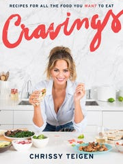 'Cravings' by Chrissy Teigen is a No. 1 USA TODAY best seller.