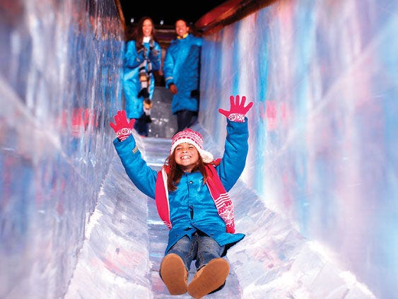 Enter to win a family four-pack to ICE! Entries accepted 111/17-12/8.