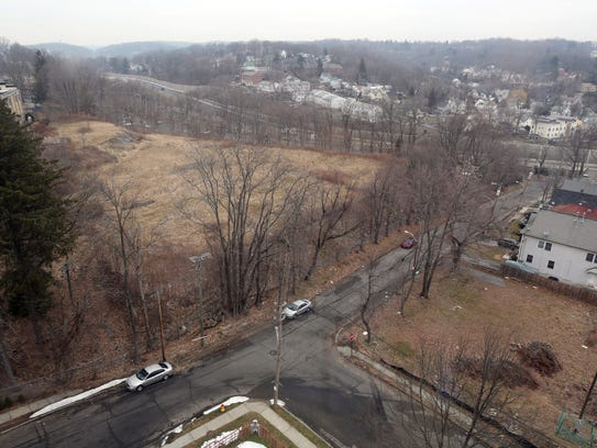 A view of the old Good Counsel property in White Plains.