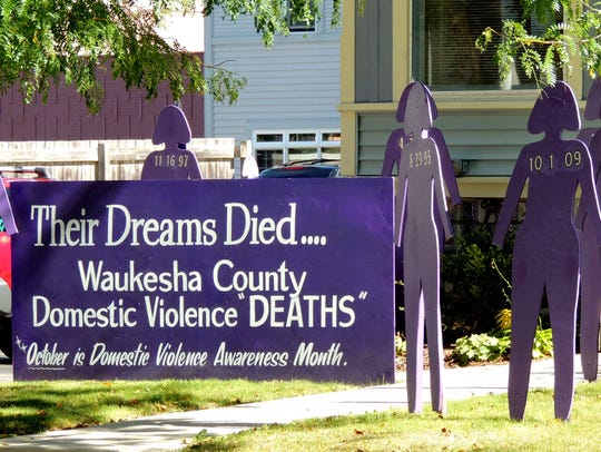 The Women's Center in Waukesha honors abuse victims